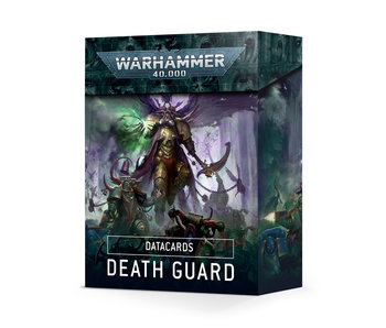 Death Guard Datacards (English) (PRE ORDER)