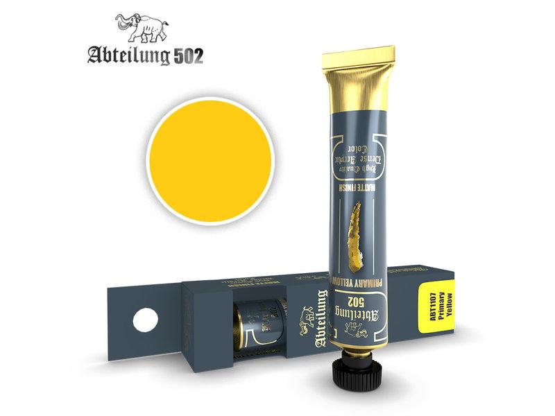 Abteilung 502 Abteilung 502 HQ Dense Acrylic - Primary Yellow (ABT1107)