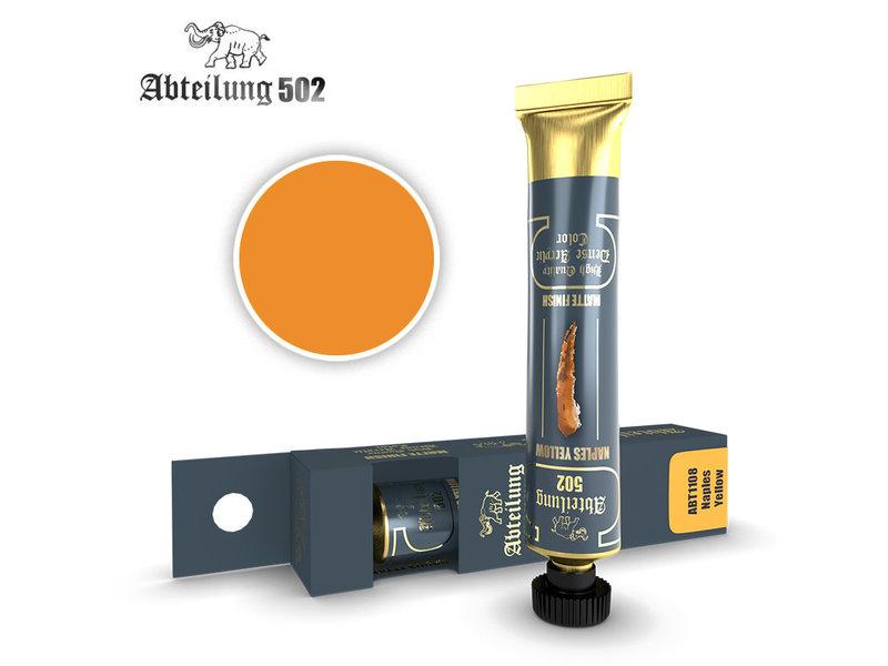 Abteilung 502 Abteilung 502 HQ Dense Acrylic - Naples Yellow (ABT1108)