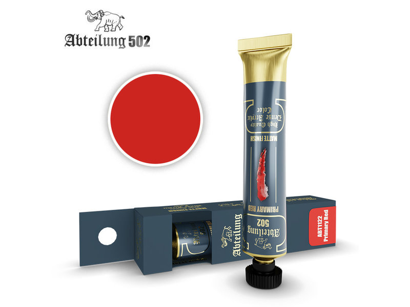 Abteilung 502 Abteilung 502 HQ Dense Acrylic - Primary Red (ABT1122)