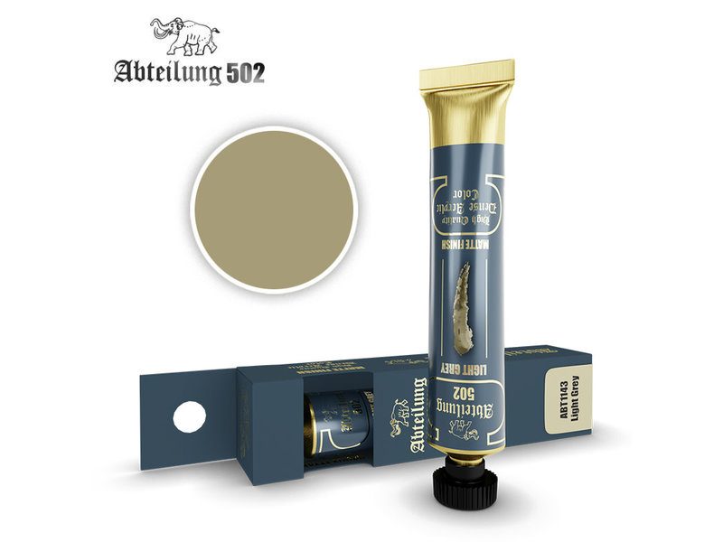 Abteilung 502 Abteilung 502 HQ Dense Acrylic - Light Grey (ABT1143)