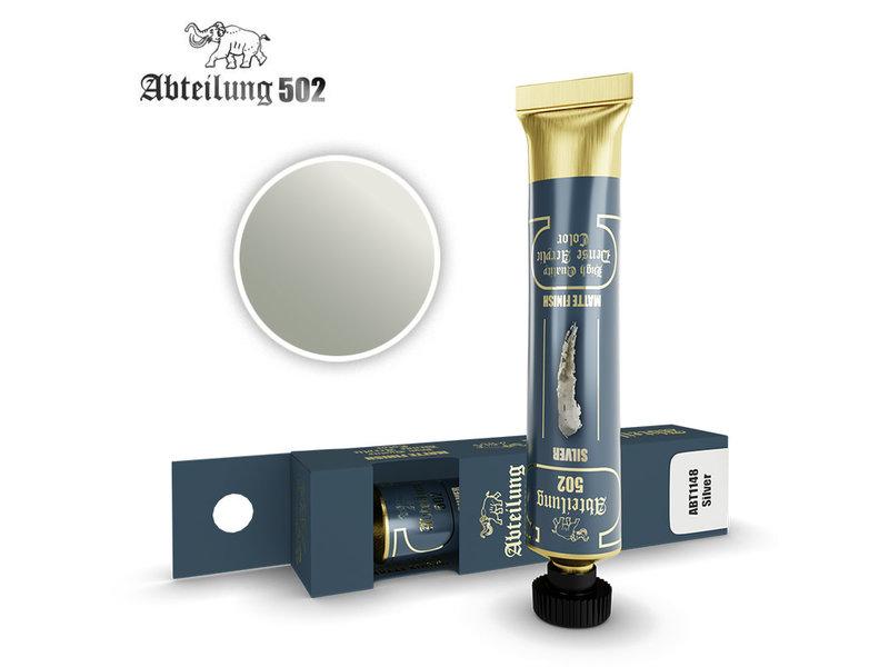 Abteilung 502 Abteilung 502 HQ Dense Acrylic - Silver (ABT1148)