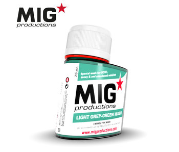 MIG Light Grey-Green Wash 75ml (P279)