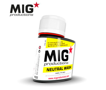 MIG Neutral Wash 75ml (P222)