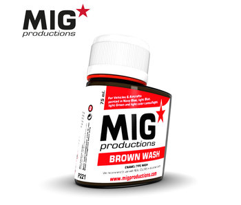 MIG Brown Wash 75ml (P221)