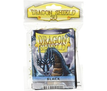 Dragon Shields - Standard Card Sleeves Black (50)
