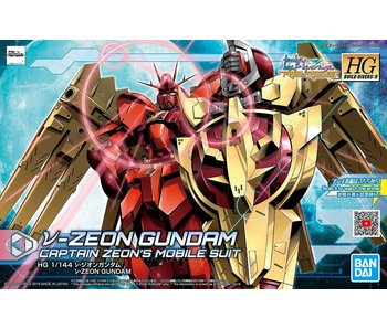 Bandai #05 Nu-Zeon Gundam Build Divers Re Rise Bandai Spirits Hgbd:R 1/144