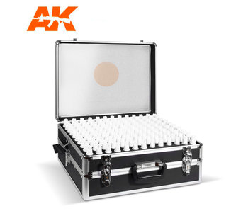 Ak Interactive 3G Acrylics Briefcase, 236 Colors