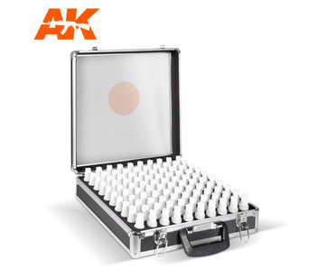 Ak Interactive 3G Acrylics Briefcase, 100 Colors