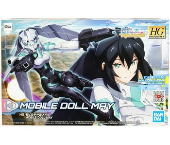 Bandai #14 Mobile Doll May Gundam Build Divers, Bandai Spirits Hgbd 1/144