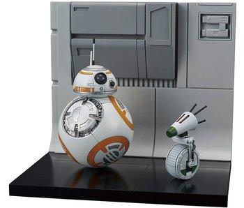 Bandai BB-8 & D-0 Diorama Set Star Wars (Rise Of Skywalker Ver.)