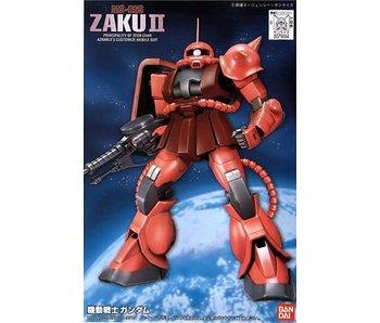 Bandai Fg-02 Ms-06S Char'S Zaku Ii Mobile Suit Gundam, Bandai First Grade 1/144