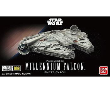 Bandai 006 Millennium Falcon Star Wars, Star Wars Vehicle Plastic 1/350 Model