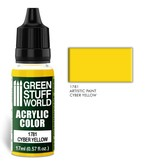 Green Stuff World GSW Acrylic Color CYBER YELLOW (1781)