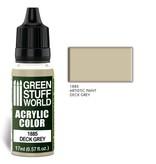 Green Stuff World GSW Acrylic Color DECK GREY (1885)