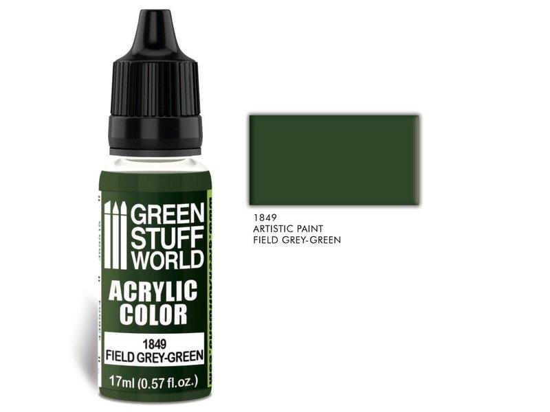 Green Stuff World GSW Acrylic Color FIELD GREEN-GREY (1849)