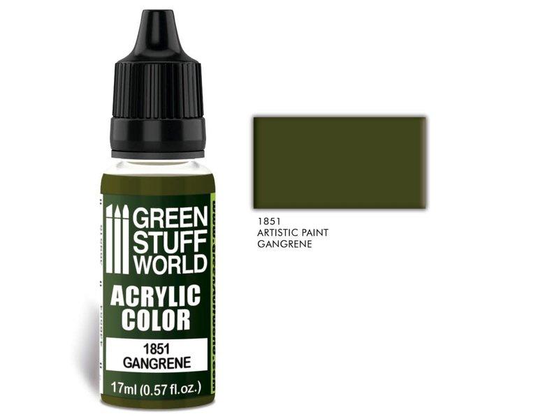 Green Stuff World GSW Acrylic Color GANGRENE (1851)
