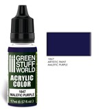Green Stuff World GSW Acrylic Color MALEFIC PURPLE (1847)