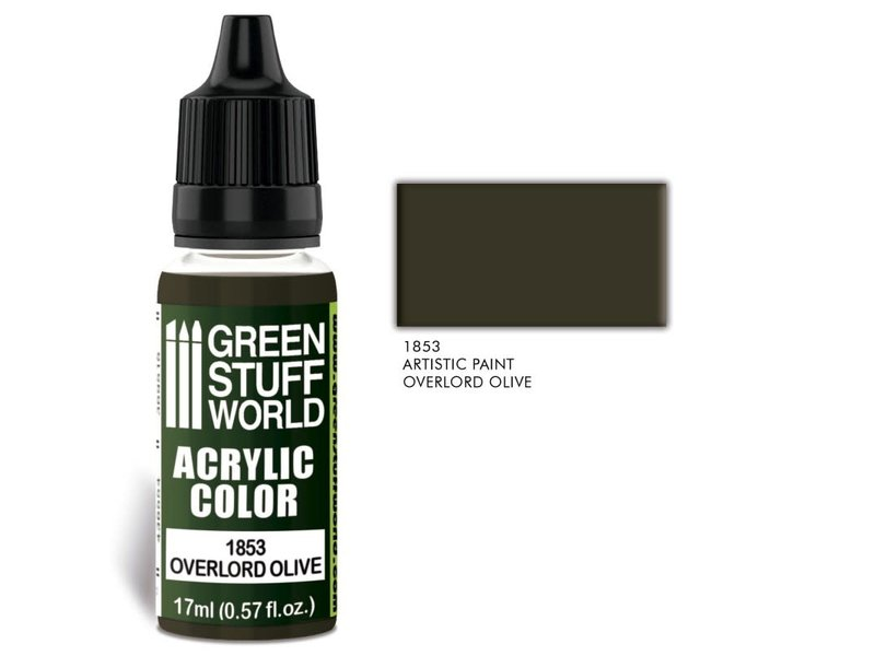 Green Stuff World GSW Acrylic Color OVERLORD OLIVE (1853)