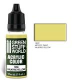 Green Stuff World GSW Acrylic Color VALKYRIE YELLOW (1859)