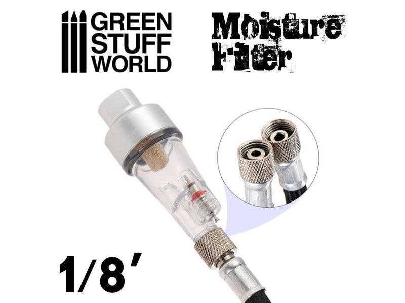 Green Stuff World GSW Airbrush Moisture Air Filter 1/8