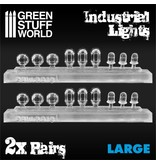 Green Stuff World GSW 18x Resin Industrial Lights - Large