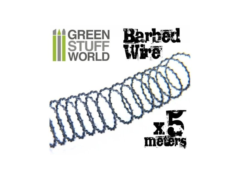 Green Stuff World GSW 5 meters of simulated BARBED WIRE