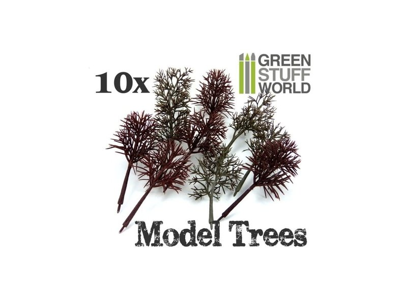 Green Stuff World GSW 10x Model Tree Trunks