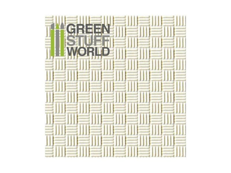 Green Stuff World GSW ABS Plasticard - OFFSET LINES
