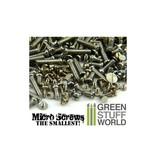 Green Stuff World GSW 1200 Micro Screws - 0.1mm to 1.2mm