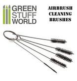 Green Stuff World GSW Airbrush Cleaning BRUSHES set