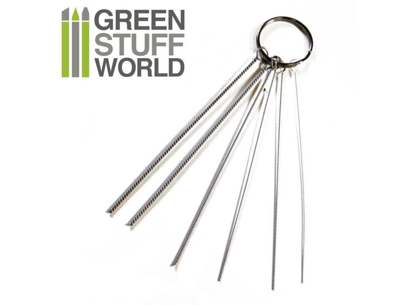 Green Stuff World GSW Airbrush Nozzle Cleaning Wires