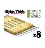 Green Stuff World GSW 8x Sculpting STYLUS tool set