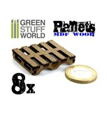 Green Stuff World GSW 8x Laser Cut PALLETS