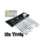 Green Stuff World GSW 10x Sculpting Tools