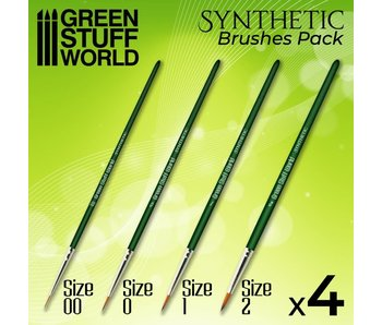 GSW GREEN SERIES Synthetic Brush Set