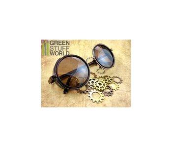GSW Retro SteamPunk goggles - COOPER frame