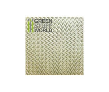 GSW ABS Plasticard - Thread  DOUBLE DIAMOND Textured Sheet - A4