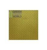 Green Stuff World GSW ABS Plasticard - Thread DIAMOND Textured Sheet - A4