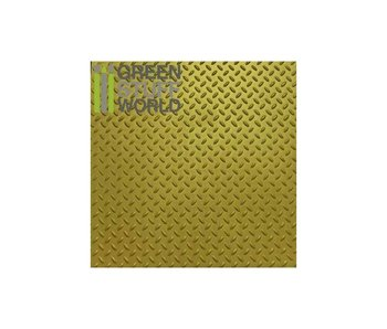 GSW ABS Plasticard - Thread DIAMOND Textured Sheet - A4