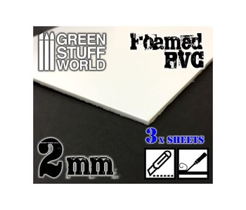 GSW Foamed PVC 2 mm