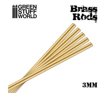 GSW Pinning Brass Rods 3mm