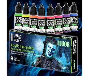 GSW Set x8 Fluor Paints