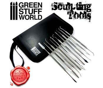GSW 10x Professional Sculpting Tools - Carvers