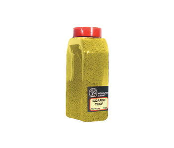 Woodland Scenics Shaker Turf - Coarse fall Yellow (32 Oz) T1353