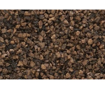 Woodland Scenics Coarse Ballast - Dark brown (12 Oz) B85