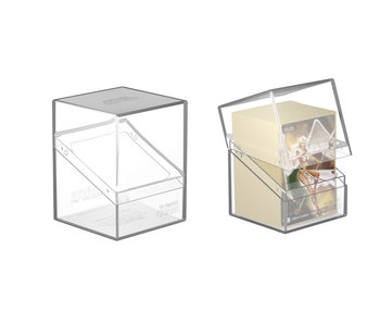 Ultimate Guard Deck Case Boulder 80+ Clear