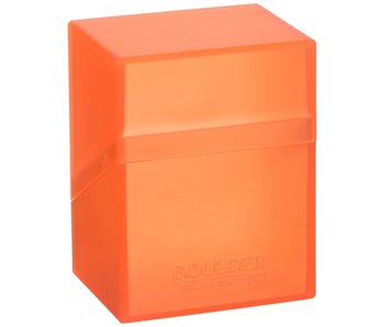Ultimate Guard Deck Case Boulder 80+ Poppy Topaz (Orange)