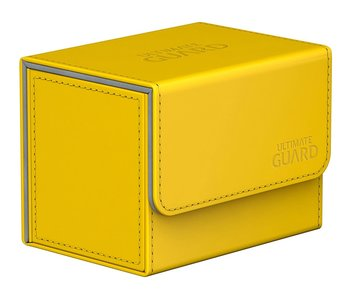 Ultimate Guard Deck Case Sidewinder Chromiaskin Yellow 80+