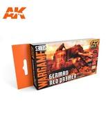 AK Interactive AK Interactive German Red Primer Colors Set